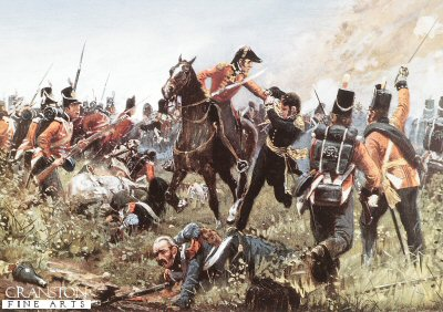 The Capture of General Cambronne by Richard Knotel.