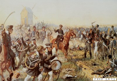 The Arrival of General von Bulow by Richard Knotel. (Y)