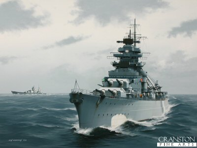 Bismarck - Pride of the Kriegsmarine by Ivan Berryman. (P)