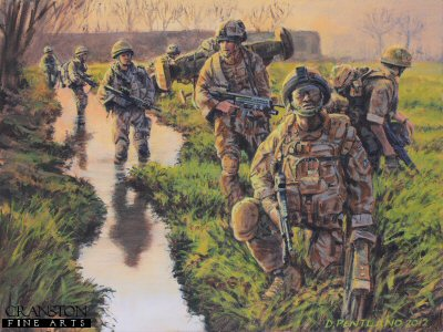 Green Zone Patrol by David Pentland.