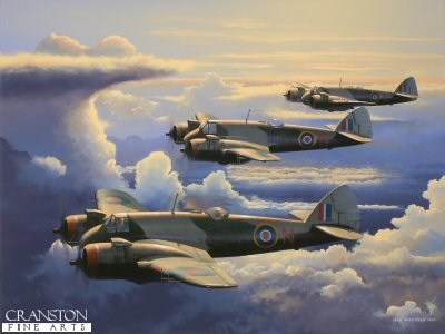 Tribute to the Beaufighter Crews of No.89 Sqn by Ivan Berryman.