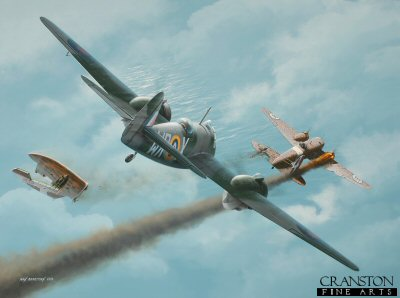 Mediterranean Fury - Tribute to No.248 Sqn by Ivan Berryman.