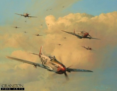 Eagles on the Rampage by Robert Taylor.