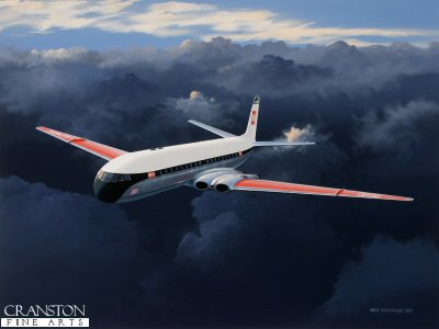 Scarlet Wings - The De Havilland Comet 4 by Ivan Berryman.
