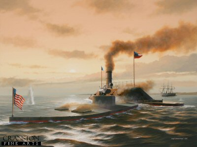 Battle of the Ironclads by Ivan Berryman. (GS)