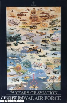75 Years of Aviation - The Royal Air Force by Nicolas Trudgian.