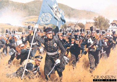 The Battle of Kulm by Carl Rochling.