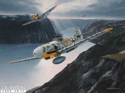 Tribute to Oberleutnant Heinrich Ehrler by Ivan Berryman.