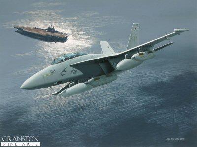 EA-18G Growler by Ivan Berryman. (GS)
