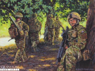 Helmand Patrol by David Pentland.