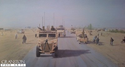 Coming Out of Gereshk by Graeme Lothian.