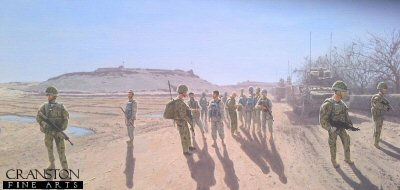 Scots Guards at Pan Kalay, Afghanistan by Graeme Lothian.