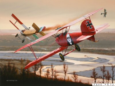 Duel Above the Piave by Ivan Berryman. (GS)