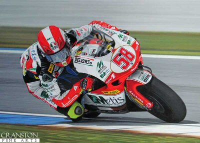 Marco Simoncelli by Ray Goldsbrough.