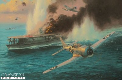 Midway - Attack on the Soryu by Anthony Saunders. (RMB)