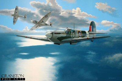 Tribute to Wing Commander Brendan 'Paddy' Finucane by Ivan Berryman.