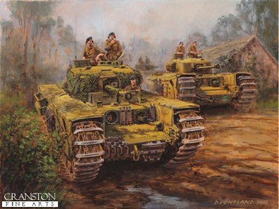 Mr Churchill's Tank by David Pentland.