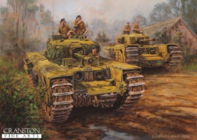 Mr Churchill's Tank by David Pentland. (PC)