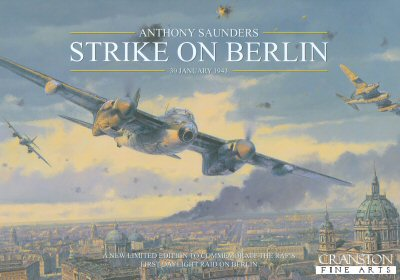 Strike on Berlin by Anthony Saunders. (FLY)