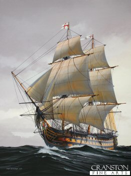 HMS Victory by Ivan Berryman. (GS)