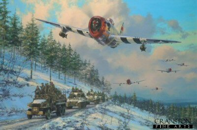 Thunder in the Ardennes by Anthony Saunders.