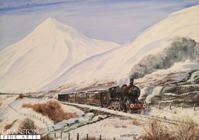 Winter Steam in the Highlands by Robert Barbour. (P)