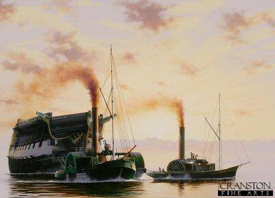The Temeraire's Last Journey by Ivan Berryman. (PC)