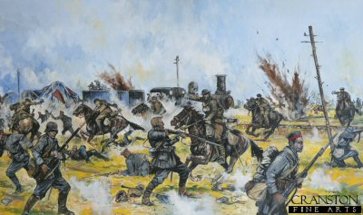 Inniskilling Dragoons at Amiens by Jason Askew. (GL)