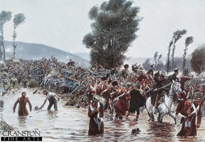 The Retreat of the French Army by Richard Knotel.