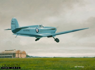 Into History - Spitfire Prototype by Ivan Berryman.