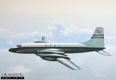 Bristol Britannia by Ivan Berryman. (GS)