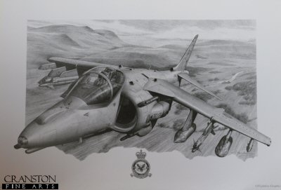 Harrier GR7 of No.20(R) Sqn by G Henderson.