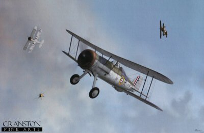 Gloster Sea Gladiator by Jerry Boucher.