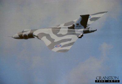 Vulcan B Mk2 XM594, 44 Rhodesia Squadron, RAF Waddington. (PHOTO) by R P Chapman.