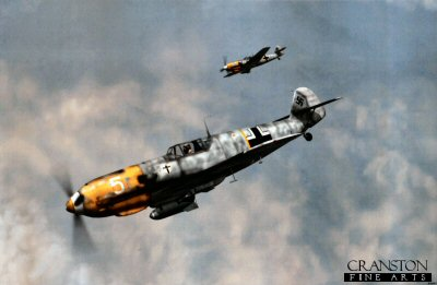 Messerschmitt Bf109E-7/Bs by Jerry Boucher.