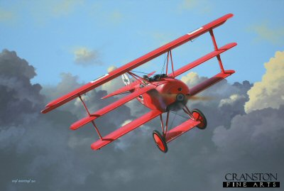 The Greatest of Them All - Manfred von Richthofen by Ivan Berryman.