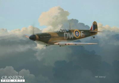 Tribute to Pilot Officer Pegge of No.610 Squadron by Ivan Berryman.