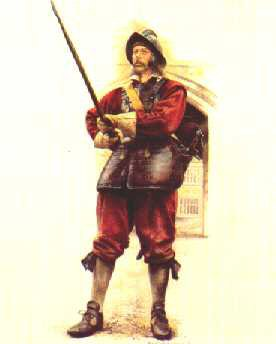 Pikeman of the Kings Life Guard by Chris Collingwood.