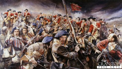 Battle of Falkirk by Chris Collingwood.