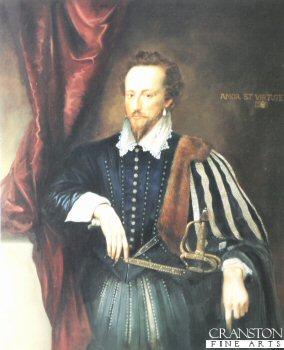 Sir Walter Raleigh by Chris Collingwood.