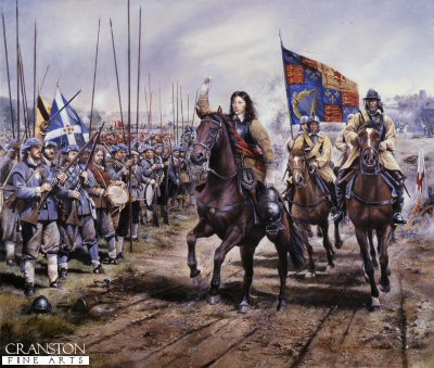 Battle of Worcester, 3rd September 1651 by Chris Collingwood.