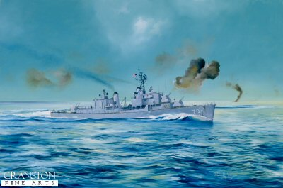 USS Maddox by Randall Wilson (AP)