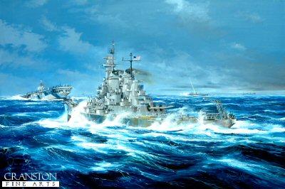 USS New Jersey, batten down the Hatches by Randall Wilson (GS)