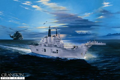HMS Invincible by Randall Wilson.