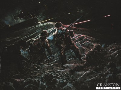 Battle for Mount Longdon by Mark Churms. (Y)