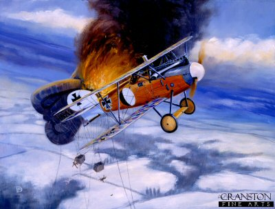 Balloon Buster, 25th January 1918 by David Pentland.
