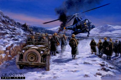 Frozen Chosin, Korea, December 1950 by David Pentland. (YB)
