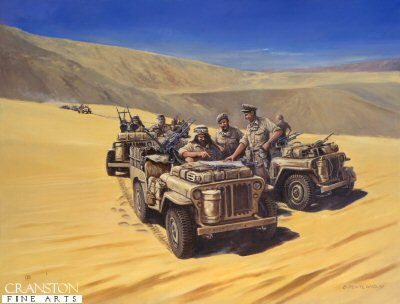 Paddys Troopers, The Sidi Haneish Road, 17th July 1942 by David Pentland. (GL)