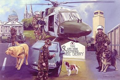 Search and Secure, Army Dog Unit by David Pentland. (AP)