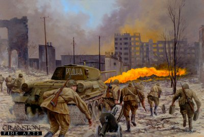 Motherland, The Battle of Stalingrad, September 1942 by David Pentland.